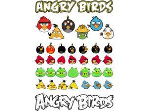 angry birds вектор
