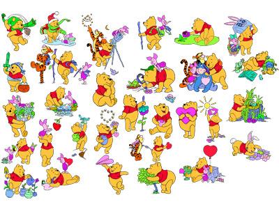 2. Винни Пух и его друзья