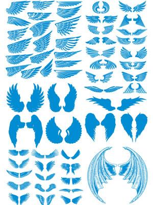 Крылья в векторе часть 2