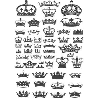 короны в векторе 1