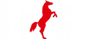 Трафарет лошади #11