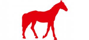 Трафарет лошади #5