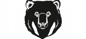 Наклейка Медведь №1