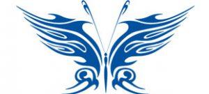Декоративная наклейка бабочка №18