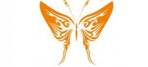 Декоративная наклейка бабочка №2