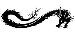Наклейка Дракон №3