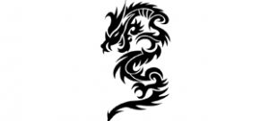 Наклейка Дракон №6