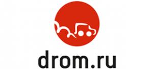 Наклейка Drom.ru
