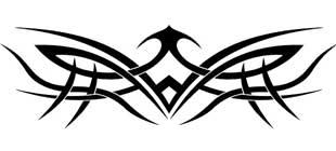 Наклейка кельтские узоры №10