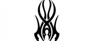 Наклейка кельтские узоры №11