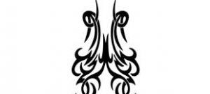Наклейка кельтские узоры №14