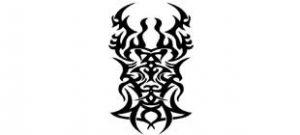 Наклейка кельтские узоры №19