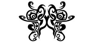 Наклейка кельтские узоры №20