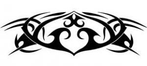 Наклейка кельтские узоры №3