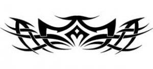 Наклейка кельтские узоры №4