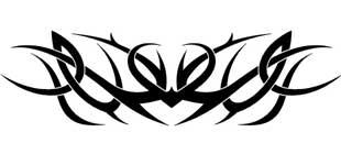Наклейка кельтские узоры №6