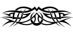 Наклейка кельтские узоры №7
