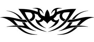 Наклейка кельтские узоры №8