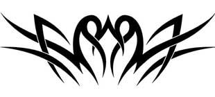 Наклейка кельтские узоры №9