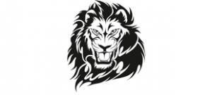 Наклейка Лев №2