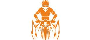 Велосепедист вектор