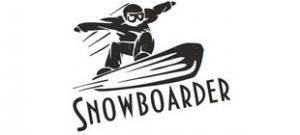 Сноубордист вектор