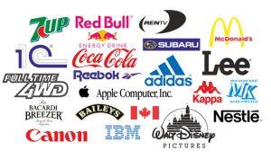Популярные логотипы в векторе