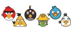 Angry birds вектор скачать