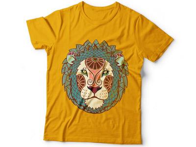 Принт на футболке зодиак