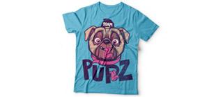 Принт на футболку PUPZ
