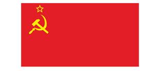 Флаг СССР в векторе