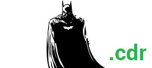 Вектор наклейки Бэтмен
