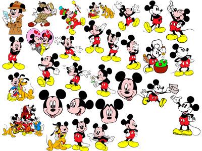 1. Микки Маус и его друзья