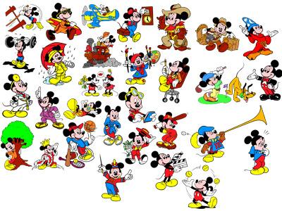 2. Микки Маус и его друзья