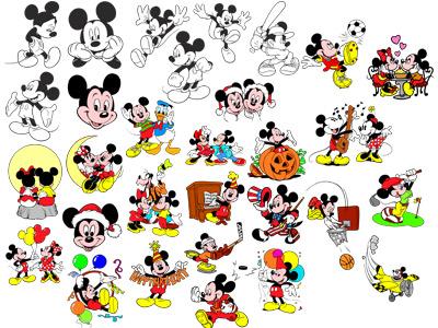 3. Микки Маус и его друзья
