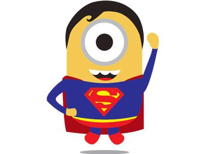 Миньон супермен