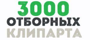 3000 отборных векторных клипартов