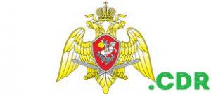 Эмблема национальной гвардии России в векторе