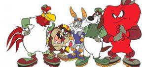 Герои мультфильма Looney Tunes в векторе