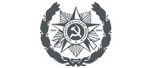 Наклейка орден Отечественной войны в векторе