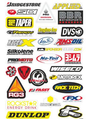 6. stikers in vector