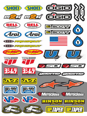 9. stikers in vector