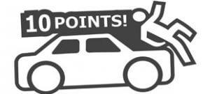 10 Points в векторе наклейка10 Points в векторе наклейка