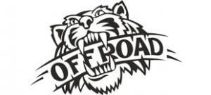 Offroad с пастью тигра в векторе