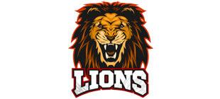 Морда льва в векторе