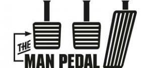 Наклейка Man Pedal в векторе