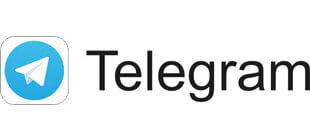 Значок Telegram в векторе